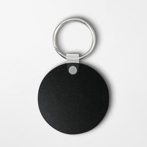 Round Shaped Keychain