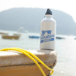 White Sports Water Bottle