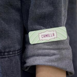 Rectangle Shaped Name Tag (Small)