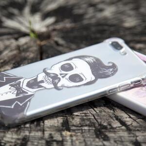 iPhone 7 Plus Transparent Bumper Case (Fully transparent)
