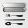 Geometric AE48 Metal Cutlery Set