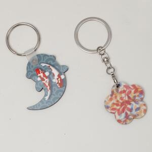 Fish Shaped Keychain