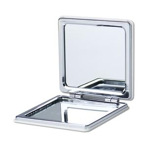 Square Imitation Leather Compact Mirror