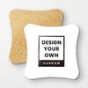 Polygon Cork Coasters (4Pcs)