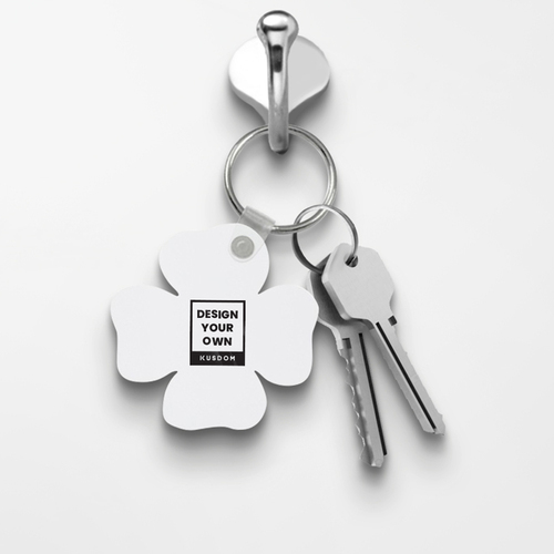 Clover Shaped Keychain