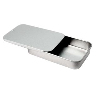 Custom Name Metal Slide Top Tin