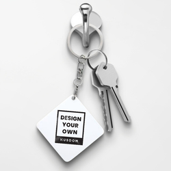 Metal Keychain - Square