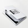 长方形皮纹名片盒