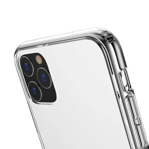 iPhone 11 Pro Max Tempered Glass Transparent Case