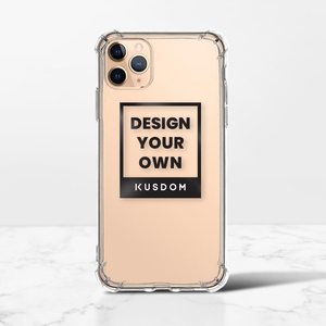 iPhone 11 Pro Max Clear Bumper Case