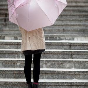 自動開收摺疊傘