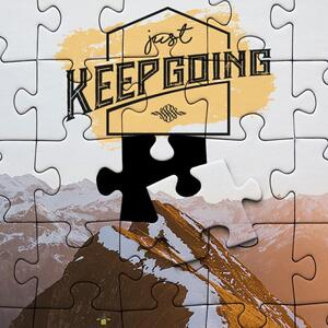 Self-Standing Jigsaw Puzzle(63 Pieces)