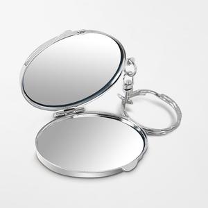 鹅蛋形匙扣镜盒