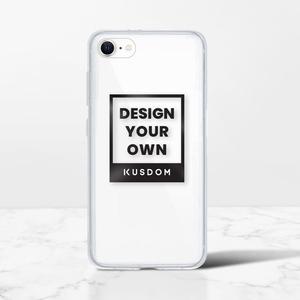 iPhone SEクリアーシェル(2020スティールガラスハードモデル)
