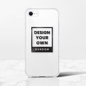 iPhone SEクリアバンパーケース(2020 TPUソフトケース)