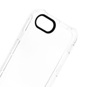 iPhone SE Clear Bumper Case ( 2020 Black aperture )