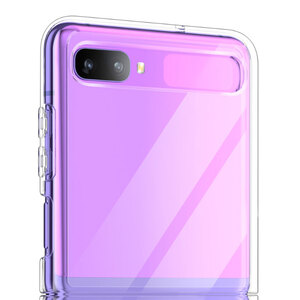 Samsung Galaxy Z Flip Clear Case (Acrylic hard case)