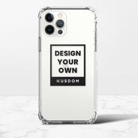 iPhone 12 Clear Bumper Case(TPU soft case)