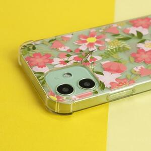 iPhone 12 Pro Max Clear Bumper Case(TPU soft case)