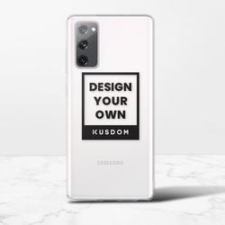 Samsung Galaxy S20 FE Clear Bumper Case(TPU soft case)