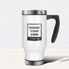 Stainless Steel Travel Mug, 16oz