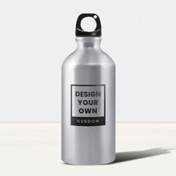 Silver Sports Water Bottle, 20oz