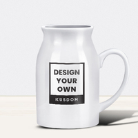 Ceramic Milk Mug, 16oz