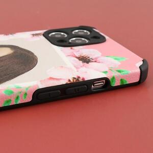 iPhone 12 Pro Max Soft Rubber Leather Texture Phone Case