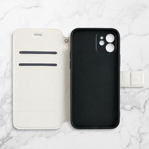 iPhone 12 mini 皮紋翻盖殼