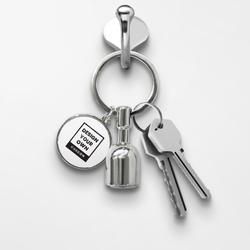 Magnetic Keychain - Round