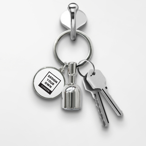 Magnetic Keychain - Round