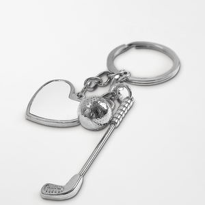 Golf Keychain - Heart