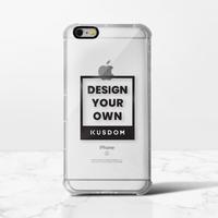 iPhone 6/6s Plus Clear Bumper Case(Black aperture )