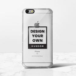 iPhone 6 / 6s Plusクリアバンパーケース(ブラックアパーチャー)