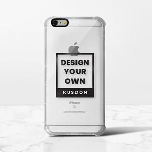 iPhone 6/6s Plus 透明防撞壳(黑边镜头)