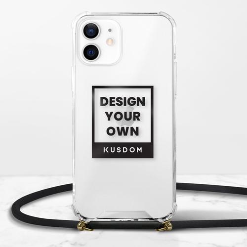 iPhone 12 掛繩透明硬殼