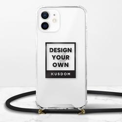iPhone 12 Mini 掛繩透明硬殼