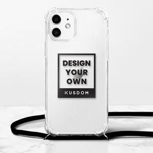 iPhone 12 掛繩透明軟殼