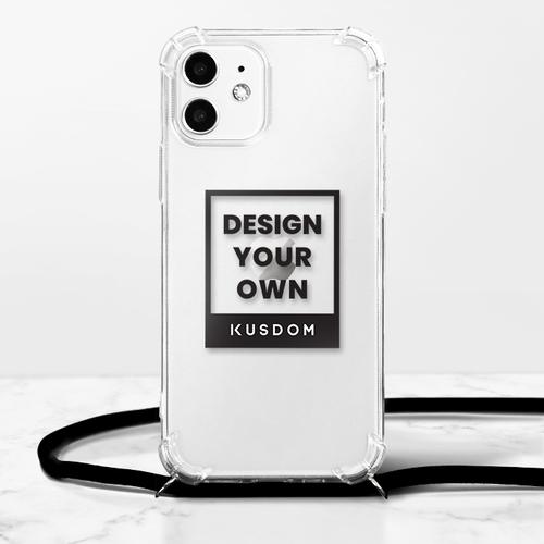 iPhone 12 mini 掛繩透明軟殼