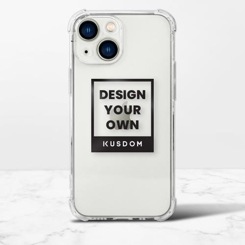 iPhone 13 mini Clear Bumper Case(TPU soft case)
