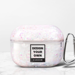 AirPods Pro Liquid Glitter Case with Carabiner
