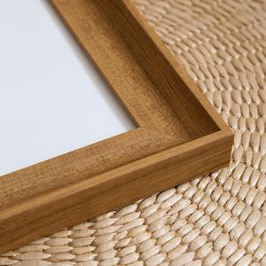 Nordic Style Wood Grain Photo Frame Art Print 10'' x 10''