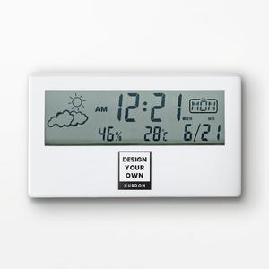 디지털 캘린더 알람시계