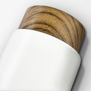 木紋杯蓋茶隔保溫杯, 13oz