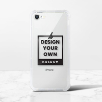 iPhone 8 Transparent Bumper Case(Fully transparent)