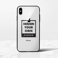 iPhone Xs Transparent Bumper Case