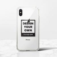 iPhone X Transparent Bumper Case(Fully transparent)