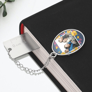 Creative Ruler Bookmark with Pendant