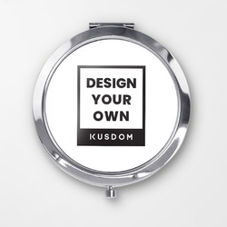 Round Compact Mirror - Middle