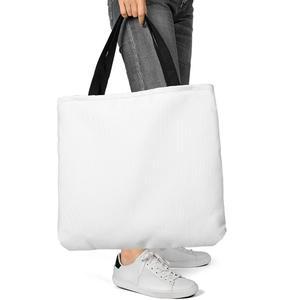 Jumbo Tote Bag with Black Handle
